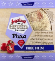 Against the Grain Gourmet Gluten Free Three Cheese Pizza