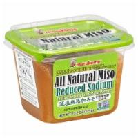 Marukome Reduced Sodium All Natural Miso - 13.2 oz