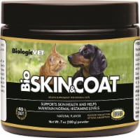BiologicVET BioSkin & Coat Natural Flavored Health Supplement for Dogs & Cats