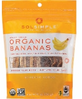 Sol Simple Organic Solar-Dried Bananas - 6 oz