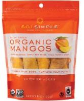 Sol Simple Organic Solar-Dried Mangos - 6 oz
