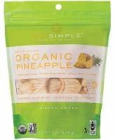 Sol Simple  Organic Solar-Dried Fruit   Pineapple - 6 oz