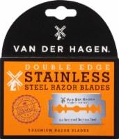 Van Der Hagen Stainless Steel Razor Blades (5 Pack)