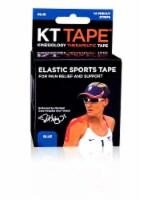 KT Tape Blue Elastic Sports Tape