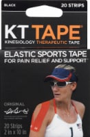 KT Tape Original Elastic Sports Tape - Black