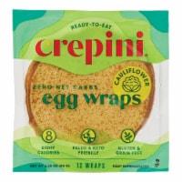 Crepini Petite Egg Wraps with Cauliflower - 12 ct / 2.26 oz
