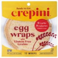 Crepini Gluten Free Gains Petite Egg Wraps 12 Count - 2.26 oz