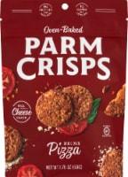 ParmCrisps Oven Baked Pizza Parmesan Keto Crisps Snacks