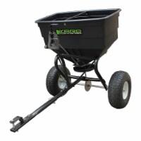 Yard Commander YTL-002-162 175 Pound Tow Broadcast Fertilizer Spreader, Black - 1 Piece