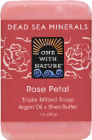 One with Nature Rose Petal Soap