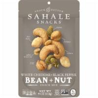 Sahale Snacks White Cheddar Black Pepper Bean + Nut Snack Mix - 4 oz