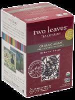 Two Leaves Organic Assam Whole Leaf Black Tea Sachets