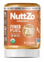 NuttZo Organic Paleo Power Fuel Smooth 7 Nut & Seed Butter - 12 oz