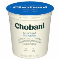 Chobani® Original Plain Non-Fat Greek Yogurt - 32 oz