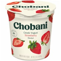 Chobani Strawberry Blended Non-Fat Greek Yogurt