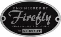 Qmx Engineered By Firefly Bumper Sticker - 1