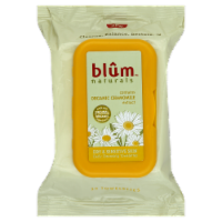 Blum Naturals Dry & Sensitive Skin Cleasing Towelettes