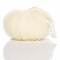 Mesh Pumpkin Body Sponge | 70 gram (2.47Oz) (beige) - 1