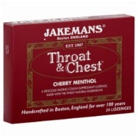 Jakemans Throat & Chest Cherry Menthol Lozenges