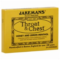 Jakemans Honey Lemon Lozenge