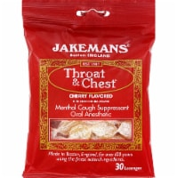 Jakemans Throat & Chest™ Flavored Lozenges Cherry