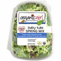 organicgirl Baby Kale and Spring Mix Salad Blend - 5 oz