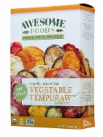 Awesome Foods  Organic Raw Vegetable Tempuraw™