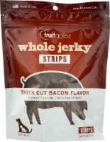 Fruitables® Whole Jerky® Strips Thick Cut Bacon Flavor Dog Treats - 5 oz