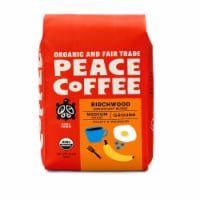 Peace Coffee Organic Birchwood Breakfast Blend Medium Roast Ground Coffee - 12 oz