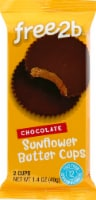 Free2b Rice Chocolate and Sunflower Seed Butter Cups