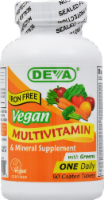 Deva Vegan Vegan Multivitamin Tablets