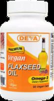 Deva Vegan Flax Seed Oil Capsules