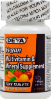 Deva Vegan Multivitamin & Supplement Tiny Tablets