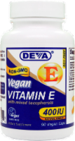 Deva Vegan Vitamin E with Mixed Tocopherols Capsules 400IU