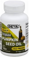 Deva Vegan Pumpkin Seed Oil Cold Pressed Dietary Supplement