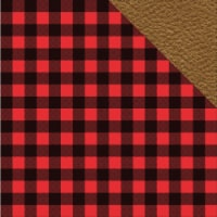 Hunter's Paradise Double-Sided Cardstock 12 X12 -Hunter's Plaid - 1