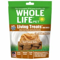 Whole Life Pet  Living Treats™ for Dogs   Real Peanut Butter