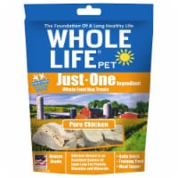 Whole Life Pet  Just One Ingredient Whole Food Dog Treats   Pure Chicken Breast