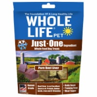 Whole Life Pet  Just One Ingredient Whole Food Dog Treats   Pure Beef Liver