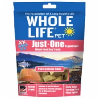 Whole Life Pet  Just One Ingredient Whole Food Dog Treats   Pure Salmon Fillet