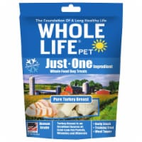 Whole Life Pet  Just One Ingredient Whole Food Dog Treats   Pure Turkey Breast