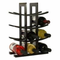 Oceanstar 12-Bottle Dark Espresso Bamboo Wine Rack WR1132 - 1 piece