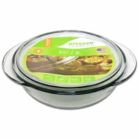 Libra 240463 1.5 Quarts Glass Casserole with Lid