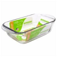 Libra 1.5 qt. Tempered Glass Loaf Baking Dish