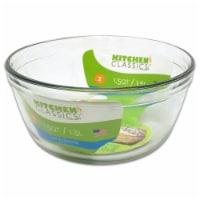 Libra 240461 1.5 Quarts Glass Mixing Bowl