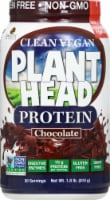Genceutic Naturals  Plant Head Protein  Chocolate