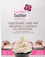 Better Batter  Cake Mix Gluten Free   Chocolate