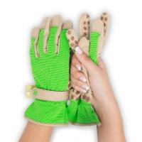 Dig It® Handwear Woman's Garden Utility Gloves - Green/Tan - SM