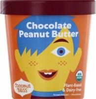 Luna & Larry's Coconut Bliss Chocolate Peanut Butter Frozen Dessert