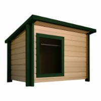 New Age Pet Rustic Lodge Dog House - Medium